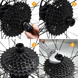 2019 bicicleta de garfo cônico Hot Mountain Bike Ferramenta de Reparação de Bicicleta Freewheel Removedor de Ferramentas de Manutenção de Cassete Para Ferramentas De Reparo Da Bicicleta Da Bicicleta