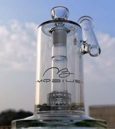2019 logo bongs Matrix di colore chiaro Perc Bong Cool Glass Bong olio Rig Rigius Dab Rigs Tubature d'acqua con logo Bong di vetro con ciotola logo bongs economici