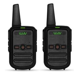 Radios gmrs online-2pcs WLN -C52 MINI fm de mano transceptor C52 bidireccional Radio jamón comunicador HF estación de radio cb Walkie Talkie FRS GMRS