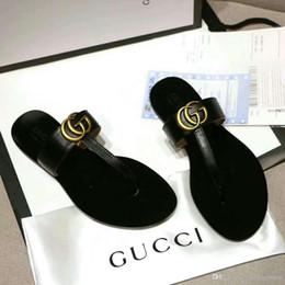 2019 tacco piattaforma nera 2018 estate mens sandali firmati in gomma causale huaraches pantofole mocassini mocassini in pelle di marca scivoli sandali firmati