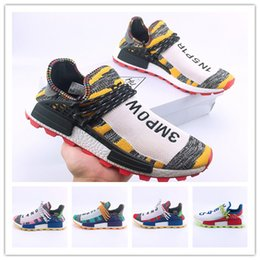 low priced 1d781 522b4 Human Race 3 Mens Running Shoes Men Casual Pharrell Williams V3 Women  Outdoor Run Utility Athletic Be True Hiking Jogging Sports Sneakers  discount pharrell ...