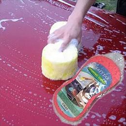 Lavagem de carro de algodão de compressão de vácuo grande 8 palavra esponja limpeza de limpeza mágica descontaminação de alta densidade esponja supplier car wash vacuums de Fornecedores de aspiradores de lavagem de carro