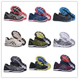 5544d27761 gel nimbus Desconto Sapatos esportivos GEL-Nimbus 20 Estabilidade  respirável tênis para homens preto branco