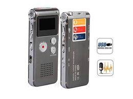 Registratore vocale digitale Registratore audio telefonico Registratore dictafono lettore MP3 da