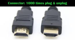 or convertir Promotion 4.92FT 150cm 9.84FT 300cm 1.4V 4K Câble HDMI avec câble Ethernet mâle à mâle 1.4V 3D 1080P 4K * Câble HDMI
