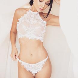 938d7593894 Women Brand Lace Sexy Lingerie Set Seamless Embroidery Bralette Erotic  Lingerie 2019 Plus Size Transparent Women Underwear Set