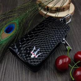 2020 чехол для ключей кожа Змеиной кожи Авто Ключ дистанционного Дело Чехол автомобильный держатель для ключей кошелек сумка кольцо брелок для Maserati 2 Бесплатная доставка скидка чехол для ключей кожа