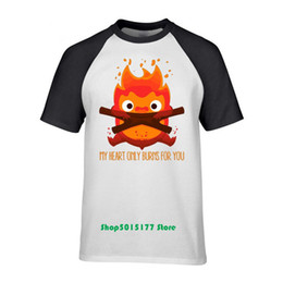 71af8550d Brand design Funny T shirt men I'm a Scary and Powerful Fire Demon T-shirt  homme camiseta tshirt Hipster harajuku Tops Tee army t shirt designs on sale