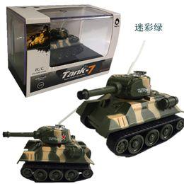 Mini Tiger RC Tank Modelo Imitar Radio Control Remoto Tanque Radio Controlado Juguetes Electrónicos Tanque para Niños Niños desde fabricantes