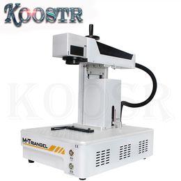 Enquadra o foco on-line-M-triangel lcd máquina de reparo a laser inteligente variando foco automático para iphonex xs max 8 8 + tampa traseira moldura de vidro de separação