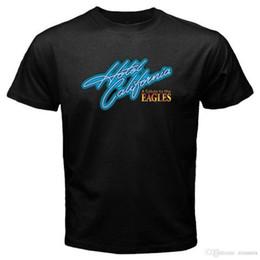 2019 vêtements californie Livraison gratuite 2018 New ELES Hôtel De Californie Loo Hommes Bla T-Shirt S M L XL 2XL 3XL Plus La Taille Casual Vêtements promotion vêtements californie