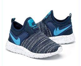 Nuevos colores de ejecución libre online-New Colors Kids Running Shoes Baby Children Runner Sports Shoes Boys Girls Athletic Shoes envío gratis # 589
