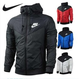 Herren-jacke mit kapuze online-2019 New Fashion Brand Herren Damen Sweatshirt Jacken Langarm Herbst Sport Zipper Herren Bekleidung Large Size Hoodie 5 Style Hot Sell