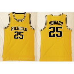 Canada Mens Juwan Howard Jersey Collection Wolverines College Maillots De Basket-ball Cousu Haute Qualité Nom Numéro Taille S-2XL Offre
