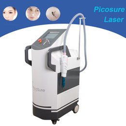 used laser tattoo removal machine Promo Codes - 2018 Newest !!! picosecond pigment removal Q switch Picosure laser 1064nm 532nm 755nm tattoo removal skin rejuvenation machine clinic use