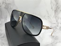 titan-metallrahmen Rabatt Neue Luxus-Mode Sonnenbrillen G5 Männer Design Metall Vintage Titan Sonnenbrille Mode-Stil Pilot Rahmen UV 400 Linse mit Originaletui