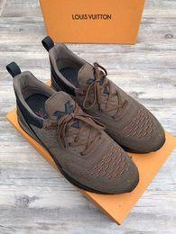 stivali marroni per gli uomini Sconti Hot Brown Sneakers 207504 Guan Men Dress Shoes Boots Mocassini Drivers Buckles Sneakers Sandali