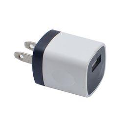 Mini preço do iphone on-line-Preço barato NOKOKO 12 Cores 5 V 1A EUA USB AC Carregador de Parede Adaptador de Carregador de Viagem Para Casa Mini Carregador USB para iphone samsung