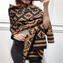 Argentina Diseñador de invierno bufanda de lana Pashmina para mujeres 2018 Nueva Cálido Vivienne Manta bufandas Bufandas de lana Cashmere bufanda de algodón regalos 180x65 cm Suministro