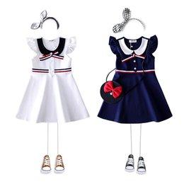 3400b8e229e девушка летнее платье 2019 новое платье принцессы костюм девушки мода  маленькая девочка платья полноценные детские платья детская одежда