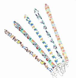 ¡Caliente! ¡Nuevo! 50 Estilos de mezcla Dibujos animados TOY Stor y Cuello Correa Tarjeta de identificación de la oficina Tarjeta de pase Cordones de cordón con llavero desde fabricantes
