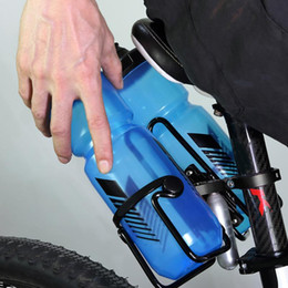 место для бутылочки для воды Скидка Велосипед бутылка клетка держатель адаптер регулируемый MTB дорожный велосипед руль бутылки воды держатель сиденье сообщение держатель