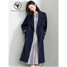 2ca47b2b1f3 Elegant Long Outerwear Women Trench Canada | Best Selling Elegant Long  Outerwear Women Trench from Top Sellers | DHgate Canada