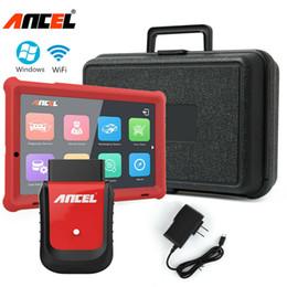 2019 gm 46 chip Herramienta de diagnóstico del sistema completo de diagnóstico del analizador Ancel X5 Plus WiFi OBD2 +10.1 '' Tableta Win10
