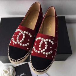 Espadrilles montantes de chaussures à talons hauts en peau pour femmes avec style 2019 Chaussures de sport en toile en peau de mouton chaussures plates 35-41 ? partir de fabricateur