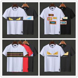 8b3e4bc4b222 2019 Nouvelle Arrivée Pas Cher Top Copie Marque Hommes T Shirts Polo dg  O-Cou Coton Vêtements de Plein Air Blanc Noir Vente Avec Gros Taille