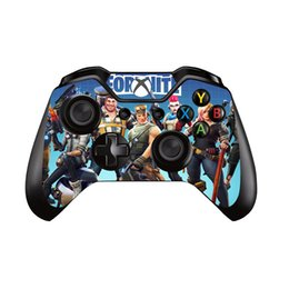 Pegatinas de piel de xbox one online-6 estilos para Fortress Night Vinyl Decal Skin Sicker Cover para Microsoft XBOX ONE Gamepad Skin Sticker para Xbox One Controller