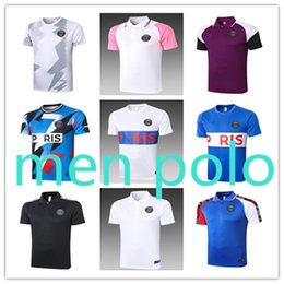 Camicie da uomo fashion design online-2020 2021 Jordan paris t shirt Paris Saint Germain men s mens designer polo t shirts off white fc Barcelona camiseta  Football jersey