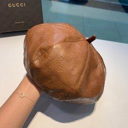 2019 headwear messicano Cappello caldo Global Fashion signore fabbricazione di cuoio 'Cappello Outdoor Leisure eleganti per donna con la scatola
