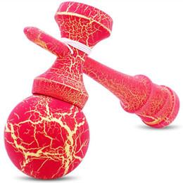 Madera Kendama Ball Kendamas Pelota profesional de malabarismo Juegos de habilidad al aire libre Bolas Malabares De Fuego kongama de juguete de madera jongleren desde fabricantes