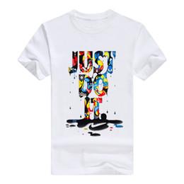 maglietta manica piena nera degli uomini Sconti Maglietta del progettista degli uomini 3d stampano la maglietta di estate maglietta del bicchierino del manicotto delle magliette degli uomini degli uomini vestiti
