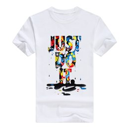 2019 rihanna make-up Mens Designer T-Shirt 3d Brief Brief Sommer Tshirt Kurzarm T-Shirts hommes Männer kleiden