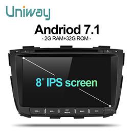 2019 kia sorento gps uniway ZSLT8071 2G + 32G android 7.1 auto dvd für kia sorento 2013 2014 autoradio gps navigation mit lenkradsteuerung günstig kia sorento gps