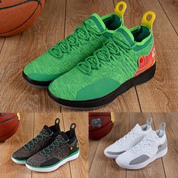 HOT KD 11 Shoes Кевин Дюрант дизайнер 11s Zoom мужские кроссовки Спортивная спортивная обувь KD EP Elite Low Sport белые роскошные туфли cheap kd mens shoes white от Поставщики кд мужская обувь белая