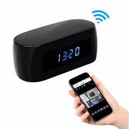 Argentina 12MP Mini Cámara Reloj Alarma P2P Livecam IR Visión Nocturna Wifi Cam Full hd 1080P Mini DV DVR Videocámara Wifi Control Remoto Suministro