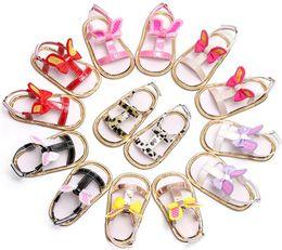 Обувь для кроликов онлайн-милые кроличьи ушки детские сандалии с бантом для малышей летние мягкие подошвы туфли первые ходунки