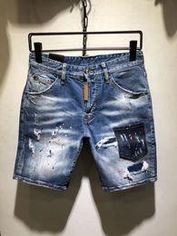 Cortocircuito maschile online-Jeans da uomo di grandi dimensioni Mostra Jeans skinny da uomo Pantaloncini di jeans Pantaloncini di moda a quattro colori Jeans da uomo facoltativi