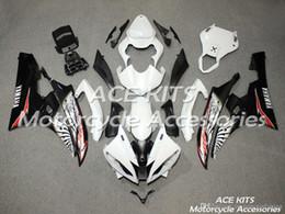 ACE KITS YAMAHA YZF R6 2006-2007 Için Motosiklet fairing Enjeksiyon veya Sıkıştırma Kaporta şok edici beyaz Kafatası NO. nereden
