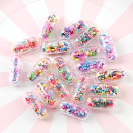 polímeros plásticos Desconto 10 PC 24mm Colorido Plástico Transparente Argila Do Polímero Encantos Pingente de Encontrar Para O Cabelo Jóias Acessórios Brinco Encantos