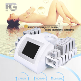 machines laser à froid Promotion New tech laser lipo machine 650nm & 980nm cold laser therapy liposuction body slimming fat removal treatment