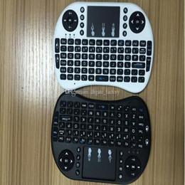 2019 rii мини-беспроводная клавиатура dhl Rii Air Mouse Беспроводная портативная клавиатура Mini I8 2,4 ГГц Сенсорная панель Пульт дистанционного управления для MX CS918 MXIII M8 TV BOX Game Play Tablet DHL Free дешево rii мини-беспроводная клавиатура dhl