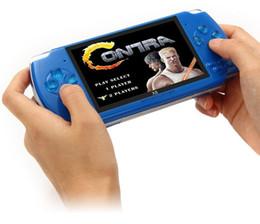 Console de jogos portátil de 4,3 polegadas 8gb on-line-Handheld Game Console 4.3 polegada Tela Portátil Video Game Player Real 8 GB Suporte Para PSP Game Store Jogos Clássicos Saída de TV