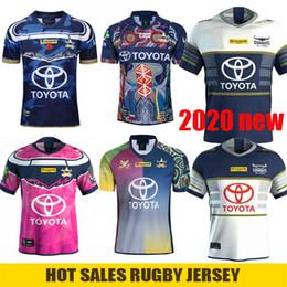 rugby de auckland Rebajas 2020 New North Queensland Cowboys Cowboys Rugby Jersey Hombres Mujeres Defensa Indígena jerseys Johnathan Thurston 2019 Testimonio de primera división