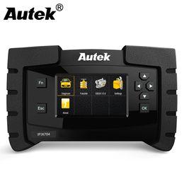 OBD OBD2 Escáner de automóviles Autek IFIX704 Todo el sistema Herramienta de diagnóstico automático para ABS Transmisión de airbag SAS EPB DPS Herramienta de exploración automática desde fabricantes