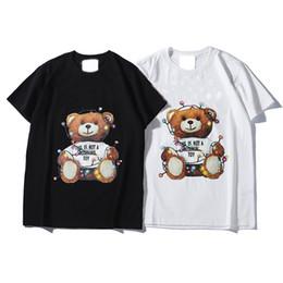 Canada 2019 Marque De Mode T Shirt Hip Hop Blanc Vêtements Pour Hommes Casual T Chemises Pour Hommes Avec Des Lettres Imprimées TShirt Taille S-2XL Offre