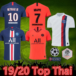 Ligue de football thai en Ligne-top thaï 2019 Jordam 2020 maillot de foot CAVANI mbappe maillot maillot Paris Saint Germain maillot PSG 19 20 maillots de football psg